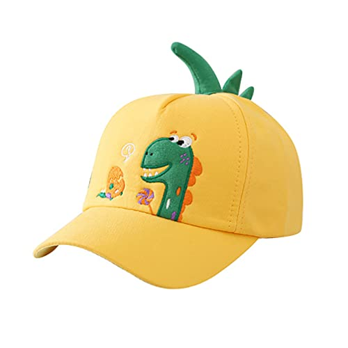 Amosfun Kinder Baseball-Cap Sommer Sonnenhut Außen Einstellbare Baseball Cap