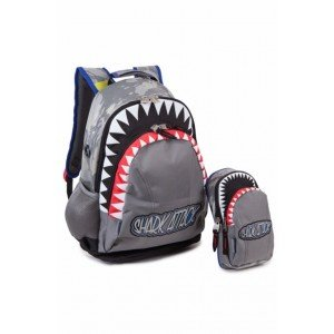 Estuche escolar tiburon