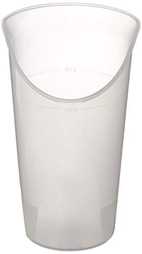 Maddak 745930014 - Vaso para nariz, transparente