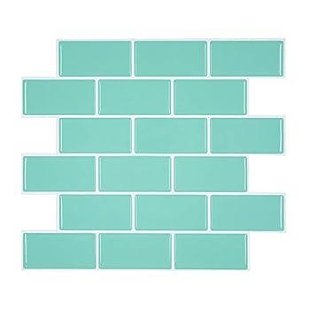 turquoise backsplash tiles