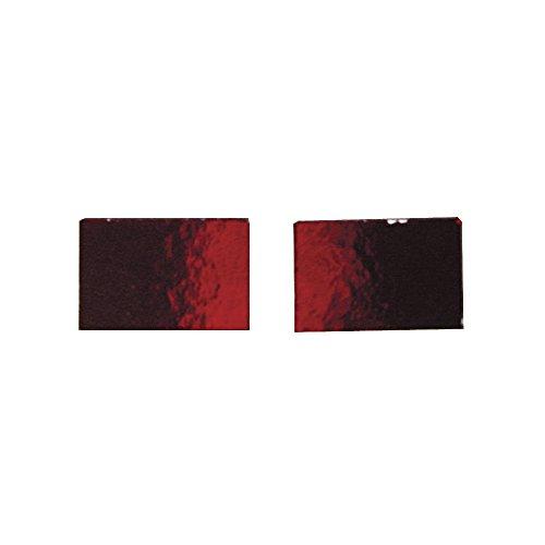 Rayher - 1450818 - Spiegelmosaiksteine, 1,0x1,5 cm, SB-Box ca. 220 Stück / 180g, rot