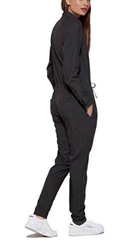 OnePiece Damen Silver Jumpsuit, Schwarz (Charcoal), 34 (Herstellergröße: XS) - 2