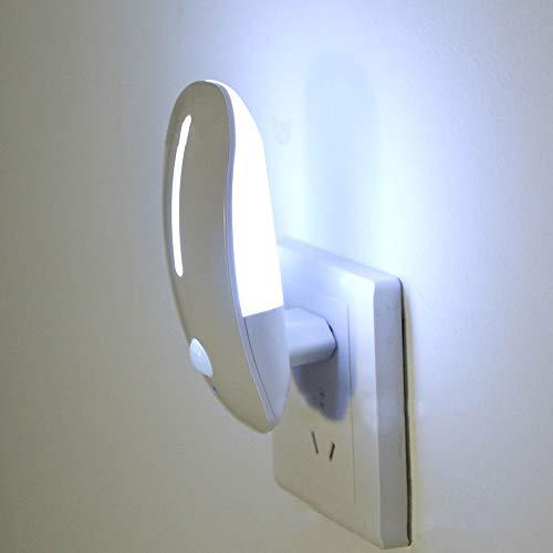 LED Nachtlampje Menselijk Lichaam Inductielamp Pir Bewegingssensor Smart Home Nachtlampje Energiebesparing Automatisch Aan/Uit 110V 220V Eu-Stekker