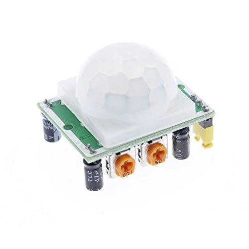 Sezoon HC-SR501 Infrarot-PIR-Bewegungssensor, Pyroelektrisches Modul für Arduino Raspberry Pi #S96, 3 Stück
