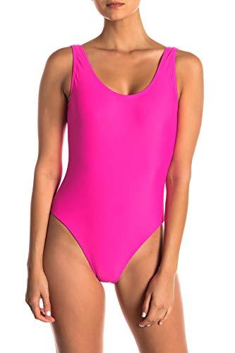 Onia Women's Kelly One-Piece Swimsuit, Fuchsia (Large)