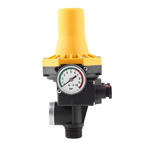Estink Automatische Pumpen Druckschalter, Elektronische Pumpensteuerung, maximale 10 bar - überwacht den Wasserdruck