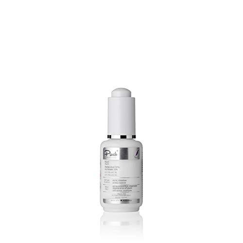 Plush luxuryBIOcosmetics - Serum, vitamine C 15% voor gezicht - formule voor de behandeling van actieve rosacea puistjes, genezen ontstekingen, littekens - huidtypes: acne, rosacea (30 ml)