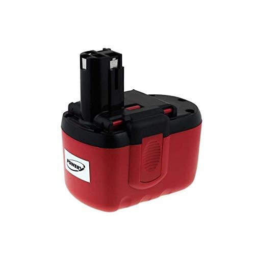 Powery Batería para Bosch Martillo GBH 24V Professional 2000mAh NiMH (O-Pack)