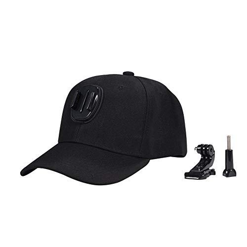 Wakects Casquette de baseball réglable, casquette de baseball avec j-hook pour caméras GoPro
