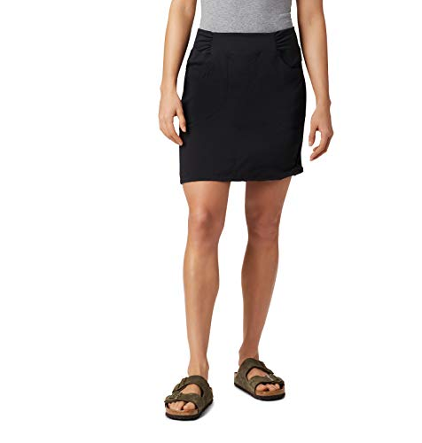 Mountain Hardwear Women's Dynama Skirt for Trekking, Hiking, and Everyday, Flexible, Water-Repellant, Breathable - Black - Medium