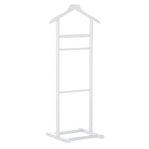 Dream Hogar Galan de Noche para Dormitorio Blanco Alamo Abedul 48x36x107 cm