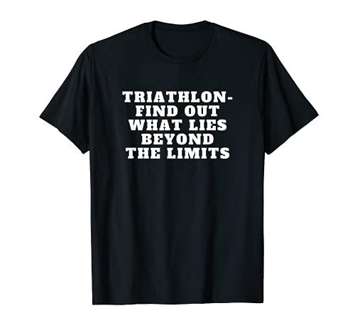 Triatlón Deportes Motivación Triatleta Diseño Camiseta