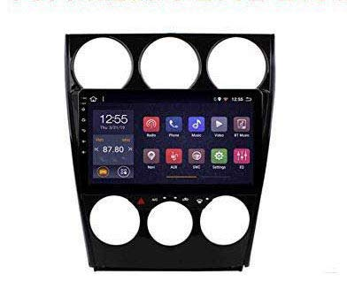 REAMIC Car Stereo Stereo Android 8.1 MP5 Player 9 Inch Navigator GPS 2.5D Pantalla TáCtil WiFi Link Radio Tuner (1G + 16G) para Mazda 6 2002-2008