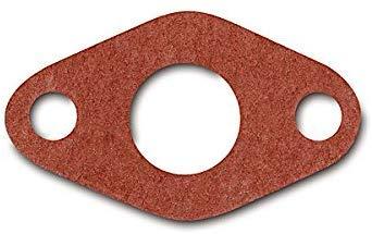 Qualitäts Flanschdichtung Rot Ø 16 mm für Simson Vergaser