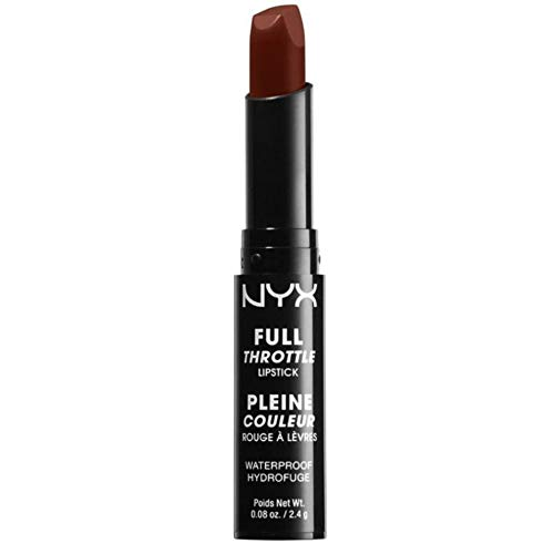 NYX Nyx cosmetics full throttle lipstick loaded