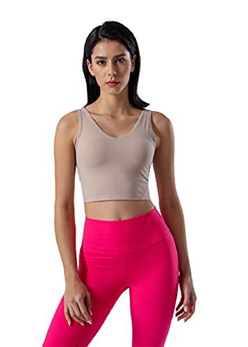 SWEETOP Sujetadores de estilo deportivo para mujer chaleco deportivo Tops Running Tie Dye Yoga Bra