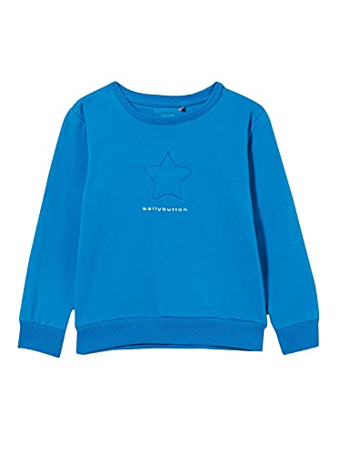bellybutton Baby-Mädchen Sweatshirt T-Shirt, Nautical Blue|Blue, 68