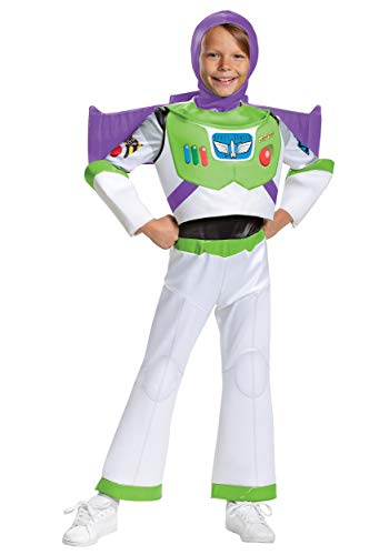 Disguise Toy Story Toddler Boy's Buzz Lightyear Deluxe Costume 3T/4T