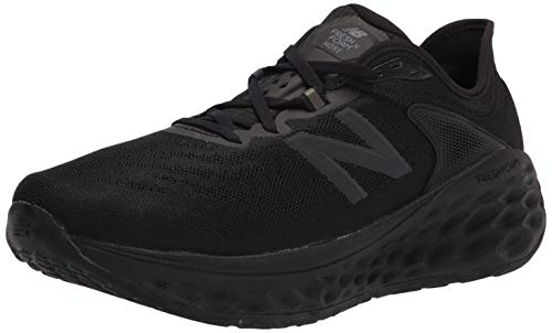 New Balance Men's Fresh Foam More V2 Running Shoe, Black/Black, 8.5 W US