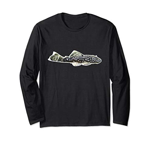 Antennenwels Saugwels Aquarienfisch I Hobby Aquaristik Langarmshirt