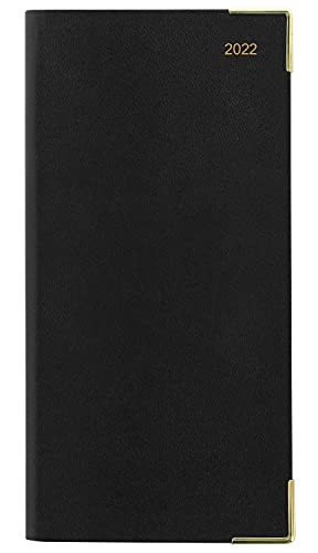 Letts of London Classic Slim Month to View 2022 Diary – Black, 22-T15SBK