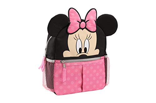Disney Minnie Mini Backpack with Safety Harness Straps for Toddlers with 3D Ears