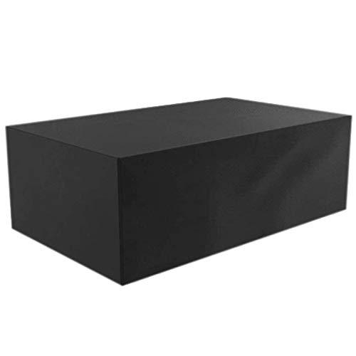 ZXHQ Cubierta De Muebles JardíN 120x60x90cm, Patio Muebles Protectora, Funda Muebles Terraza Exterior A Prueba Viento Impermeable ProteccióN contra Nieve para Sofa Mesas Y Sillas
