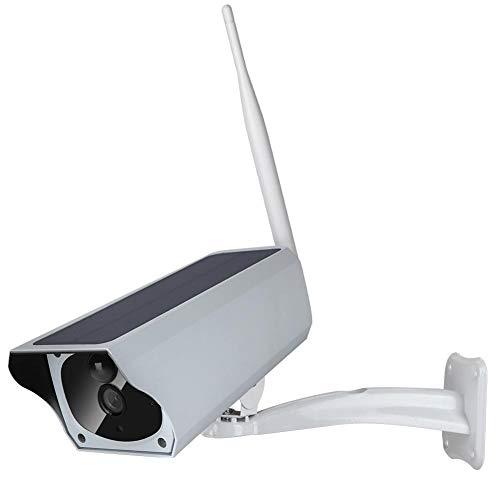 Zonne-energiecamera Waterdicht, Jadpes 1080P HD Wifi Outdoor Zonne-energie Low Power IP Camera Draadloze bewakingscamera voor voordeur, tuin, garage