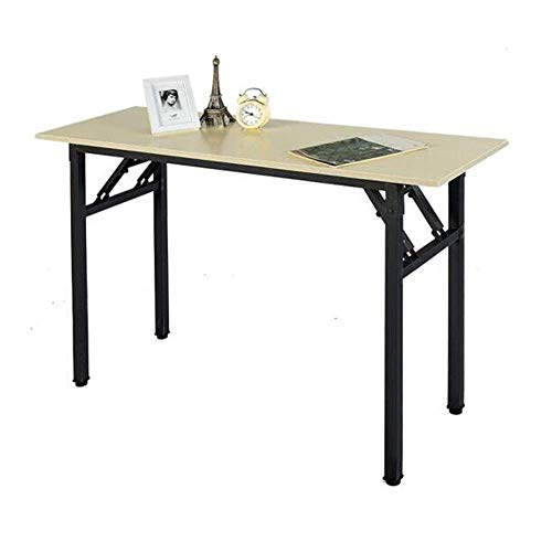 Tabellen Klapp Computer Schreibtisch Kompakt Büro Studie PC Laptop Composite Holzplatte Stahlrahmen