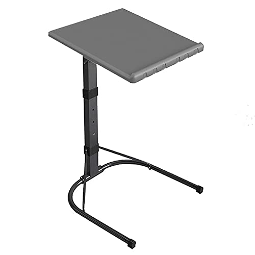 ZAQI Mesa Auxiliar mesas de Centro Bandeja Plegable para portátil, Moderno Altura...