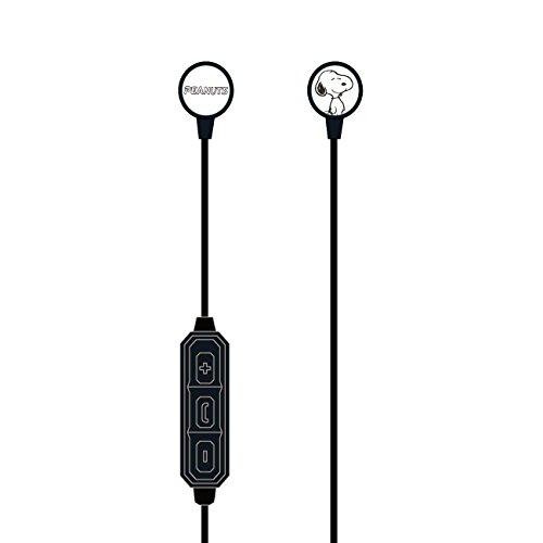 グルマンディーズ ピーナッツ Bluetoothステレオイヤホン スヌーピー sng-bt011
