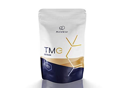 TMG | Betain | 120 Gramm | Trimethylglycin-Pulver aus der Zuckerrübe | ohne Zusätze | hergestellt in Österreich | von MoleQlar