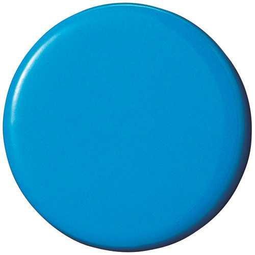 両面強力カラーマグネット30(コーティングタイプ) 青