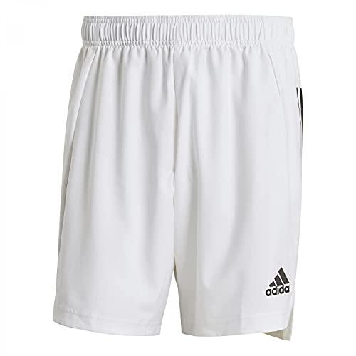 adidas Condivo 21 PRIMEBLUE, Pantaloncini da Calcio Uomo, Bianco Nero, M