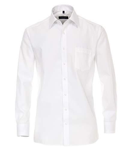 CASAMODA Businesshemden Uni Comfort Fit Weiß 54