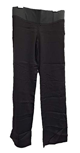 65plus Pantalón Premaman con pata Elefante, talla gris antracita 46
