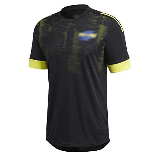 LQLD Männer Rugby Jersey 2020, Hurrikan, Crusader, Chiefs Mixed Ausgabe Männer Rugby Jersey Trainings Jersey Quick Dry Kurzarm T-Shirt,Hurricane,M