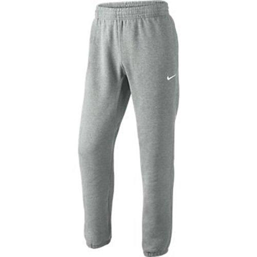 Nike Herren Sweathose Squad Fleece, grau/weiß, S, 611459