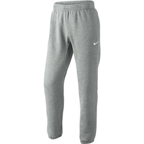 Nike Herren Sweathose Squad Fleece, grau/weiß, M, 611459