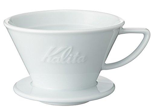 カリタ Kalita コーヒー ドリッパー ウェーブシリーズ 磁器製 波佐見焼 2~4人用 HASAMI & Kalita HA185 #02135