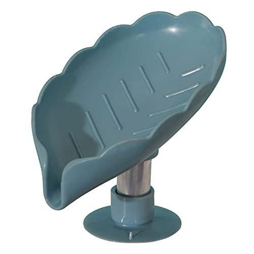 YILAHUAN Caja de jabón Caja de jabón de Forma de Hoja de jabón de Hoja Caja de Soporte de baño Accesorios de baño Lavandería de lavandería Caja de jabón Baño Suministros de baño Gadgets de Bandeja