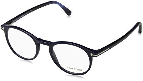Tom Ford FT5294 Occhiali da Sole, (Blu Luc), 48.0 Uomo