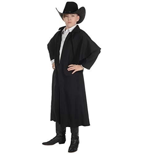 UNDERWRAPS Big Boy's Little Boy's Wild West Duster Coat Costume- Childrens Costume, Black, Large