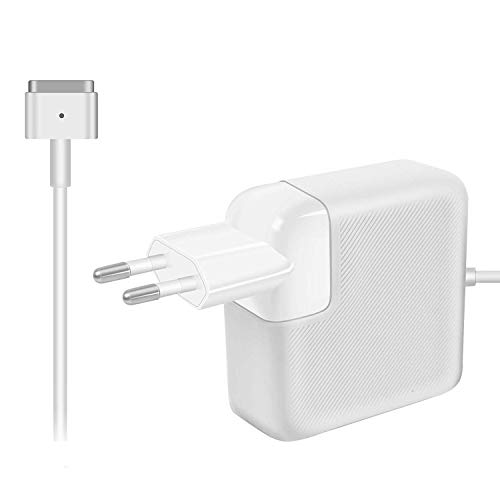 Compatibile con MacBook 45W Magnetico Caricabatterie, per MacBook Air 11 Pollici(inizio 2015) e 13 Pollici(inizio 2015-2017) con Connettore a 'T' Dopo