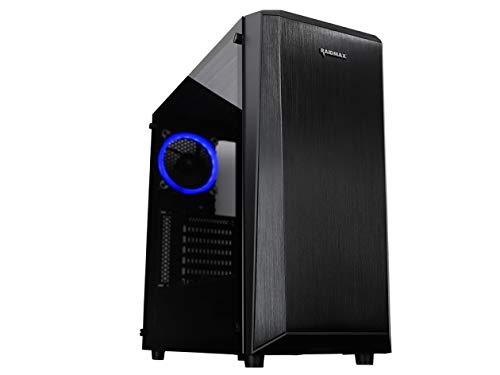 Raidmax Delta Prime - Funda para Videojuegos, Color Negro