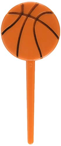 Amscan 400040 Basketball Picks, Party Decoration, 36 pieces