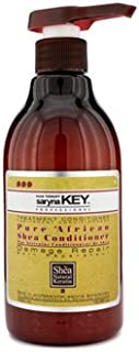 Saryna Key Pure African Shea Conditioner, Everyday Shea Hair Repair Conditioner for Damaged Hair and Seals Split Ends, Damage Repair Treatment Shea Moisture Deep Conditioner - 500ml/ 16.9 FL.oz