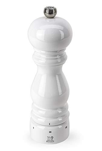 Peugeot Paris Manuelle Salzmühle, Mahlgradeinstellung u'Select, Höhe: 18 cm, Holz, Weiß, 27810
