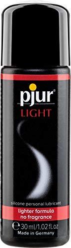 pjur LIGHT - Gleit- & Massagegel auf Silikonbasis - leichte Formulierung für extra lange Gleitfähigkeit und mehr Spaß beim Sex (30ml)