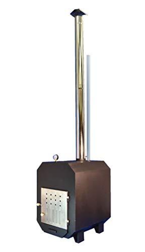 TRONGAARD Poolofen/Poolheizung/Ofen für Badetonnen/Badefässer 60KW - mit Holz befeuert